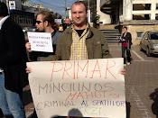 Ion Lungu - primar mincinos, mafiot şi criminal al spaţiilor verzi - Protest împotriva distrugerii spaţiilor verzi din Suceava