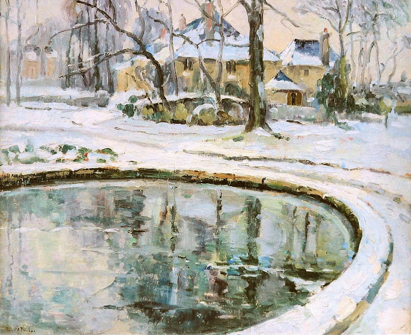 Robert Antoine Pinchon - The Basin, Snow