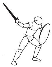 Ранние средневековые изображения известны стилизованой перспективой и исполнением.