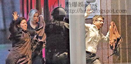 多名人質在警方強攻後趁機逃生。(美聯社圖片)