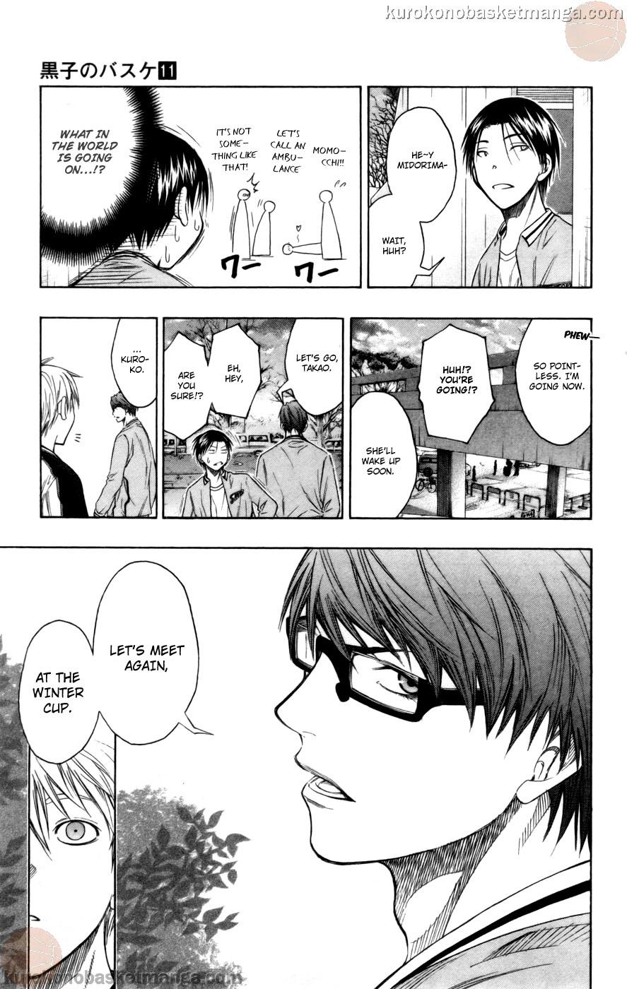 Kuroko no Basket Manga Chapter 93 - Image 17