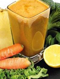 Smoothies Aneka Buah Campur Sayuran