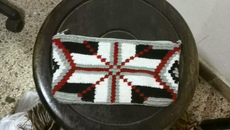Cosmetiquera Cartera Wayuu Ref. 7