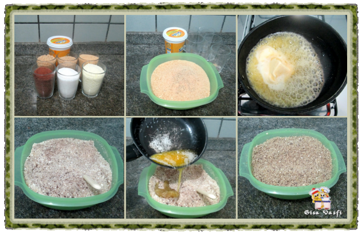Calda e farofa para sorvete 6