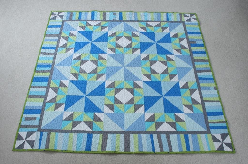 crazy mom quilts: flock quilt : pieced borders for quilts - Adamdwight.com