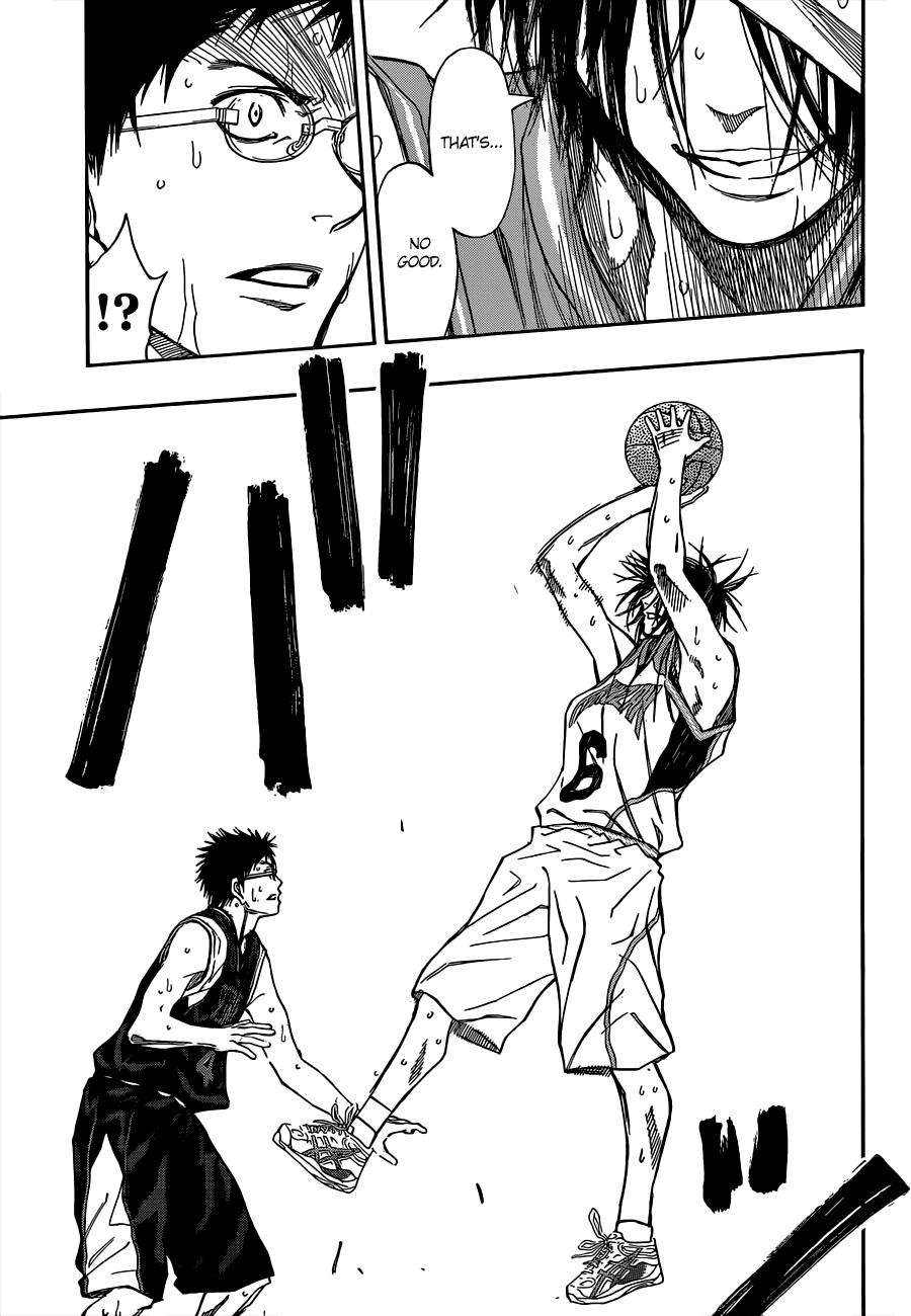 Kuroko no Basket Manga Chapter 242 - Image 08