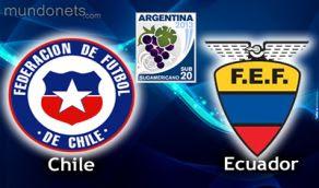 Chile Ecuador vivo online Sub20 Horarios 23 Enero