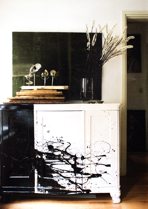 Weekend Project Paint Some Furniture Jackson Pollock