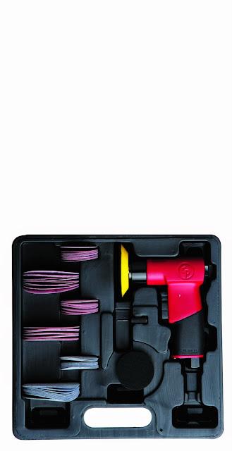 Chicago Pneumatic Cp7200s 7200s Mini Random Orbital Sander Kit