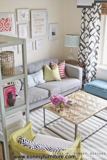 Những mẫu phòng khách nhỏ xinh và ấm cúng_NỘI THẤT PHÒNG KHÁCH-8