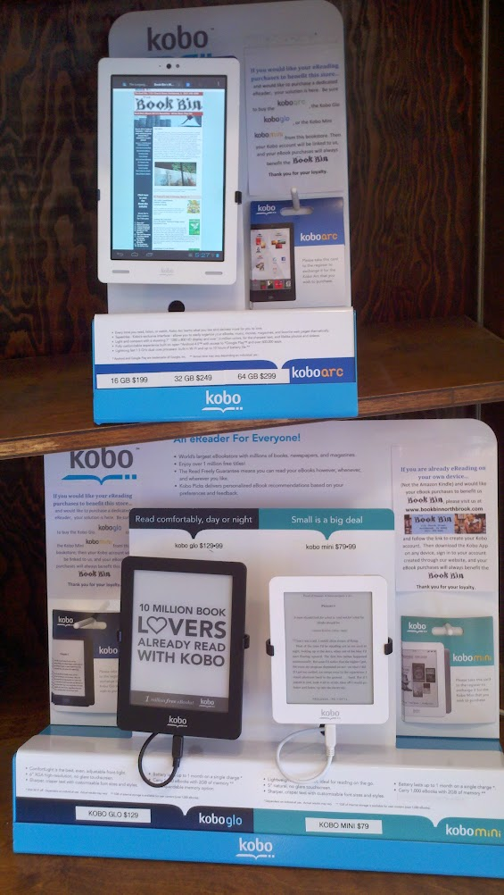 Kobo display