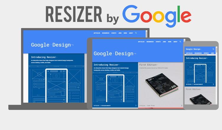 Keren, Google Merilis Resizer – Responsive Web Testing Tool