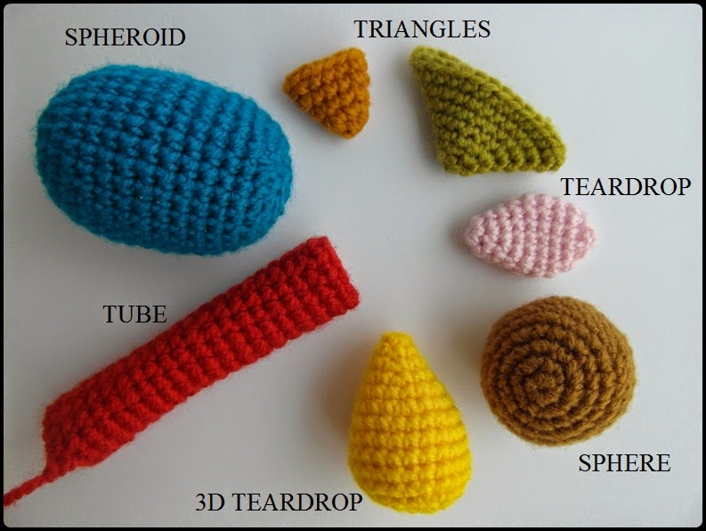 Amigurumi Shapes Crochet-along
