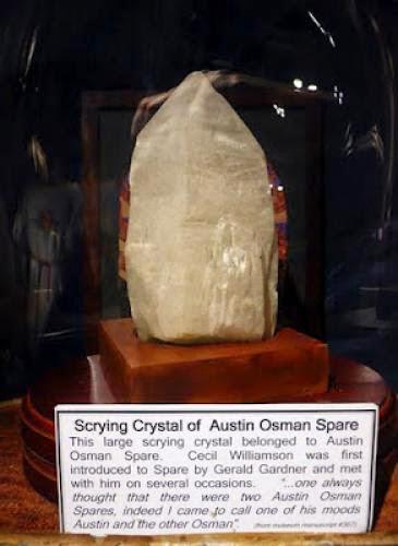 Pagan Eye Austin Osman Spare Scrying Crystal