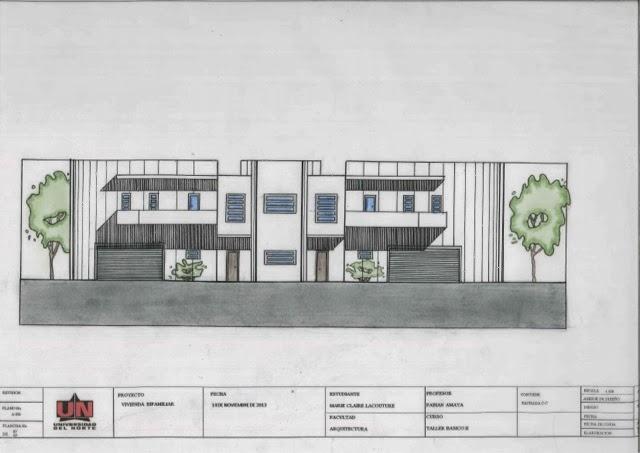 Marie claire lacouture arquitectura casa bifamiliar proyecto final ii semestre - Marie claire casa ...
