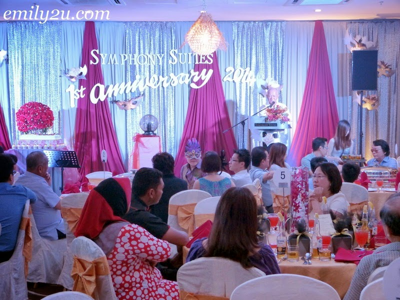 Symphony Suites Hotel first anniversary celebration