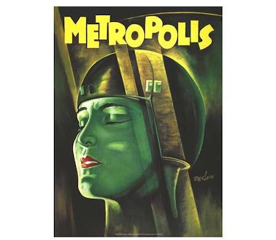 Metropolis film poster (Fritz Lang)
