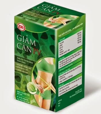 Thuốc giảm cân PV chính hãng  do Việt Nam sản xuất