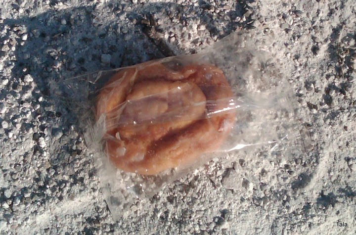 mini honey bun - mmmmmmm!