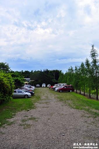沐卉親子農場戶外停車場