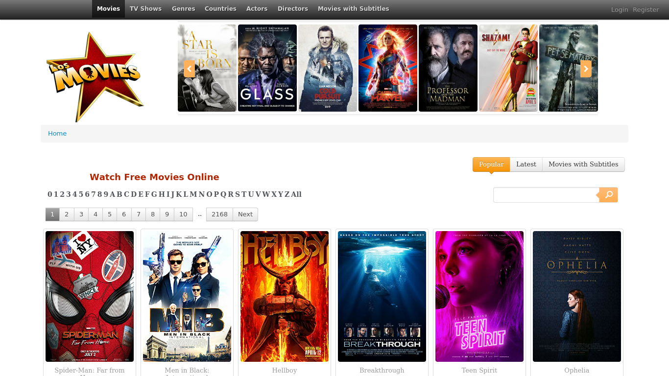 Los Movies | My Reviw Plugin
