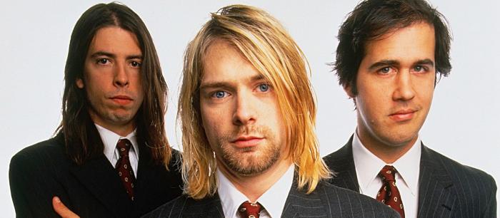 Cenas raras de show do Nirvana