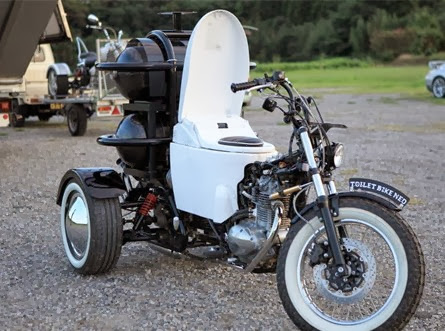 Moto crotte