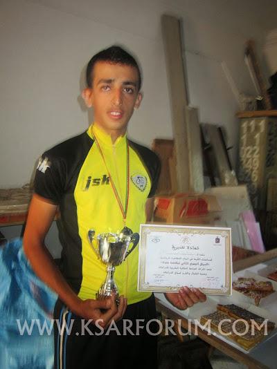 الاتحاد الرياضي القصري لسباق الدراجات يفوز بالمرتبة الثانية في سباق طنجة