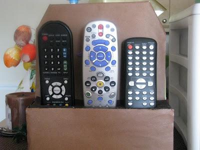 Go green Remote control organizer