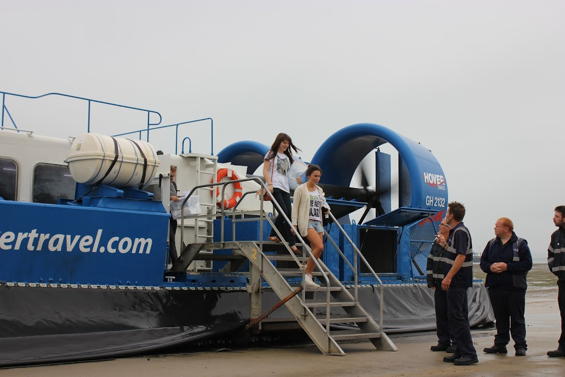 A Catwalk on a Hovercraft?