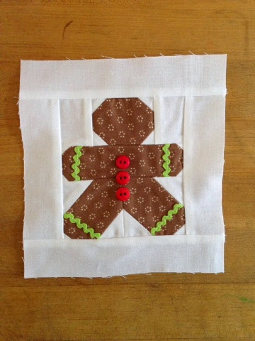 Farm Wife Journal: Have Yourself a Quilty Little Christmas : gingerbread man quilt - Adamdwight.com