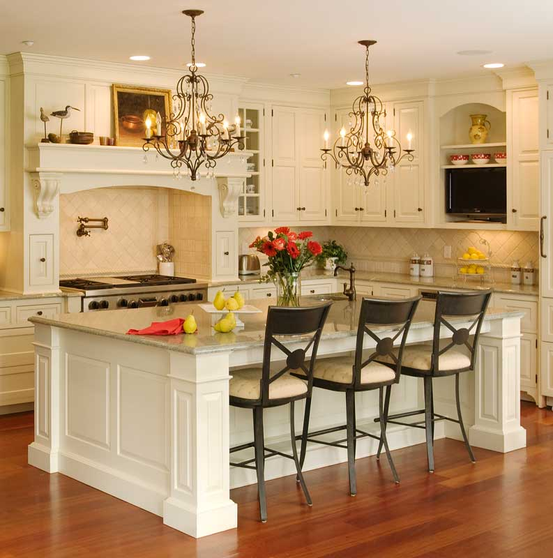 Flair for home great kitchen design - Wonderful kitchen layout plans for totally comfortable cooking time ...