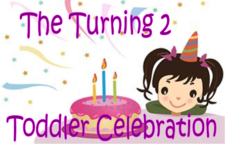 Win Toys for Toddlers in the Turning 2 Toddler Birthday Celebration