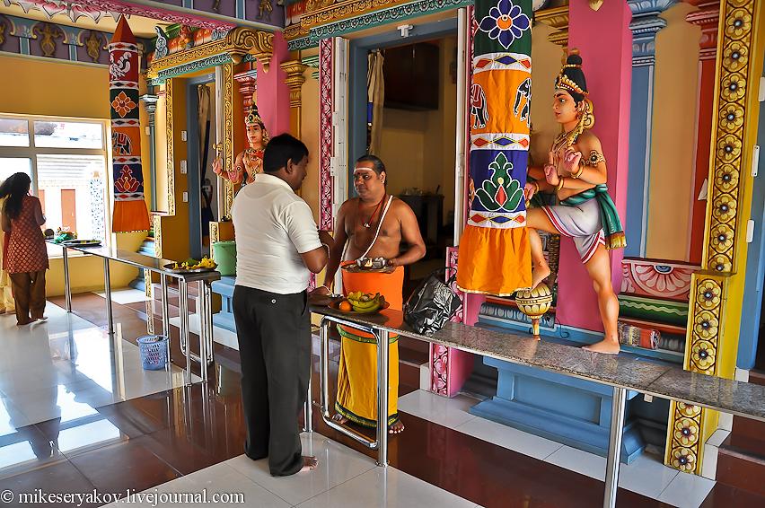 Индуистский храм на Маврикии