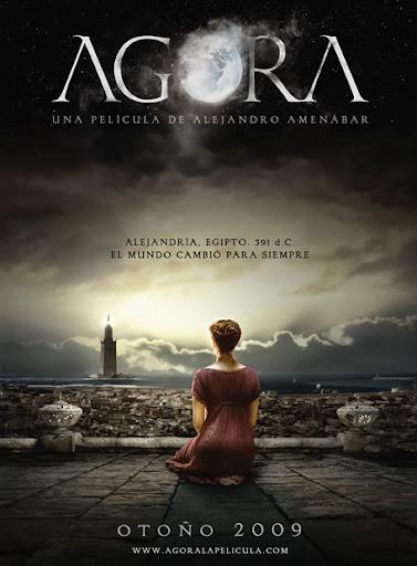 """Cartel de la película """"Ágora"""", dirigida por Alejandro Amenábar"""