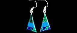 **ED-2-003 | Stone Mosaic Earrings **
