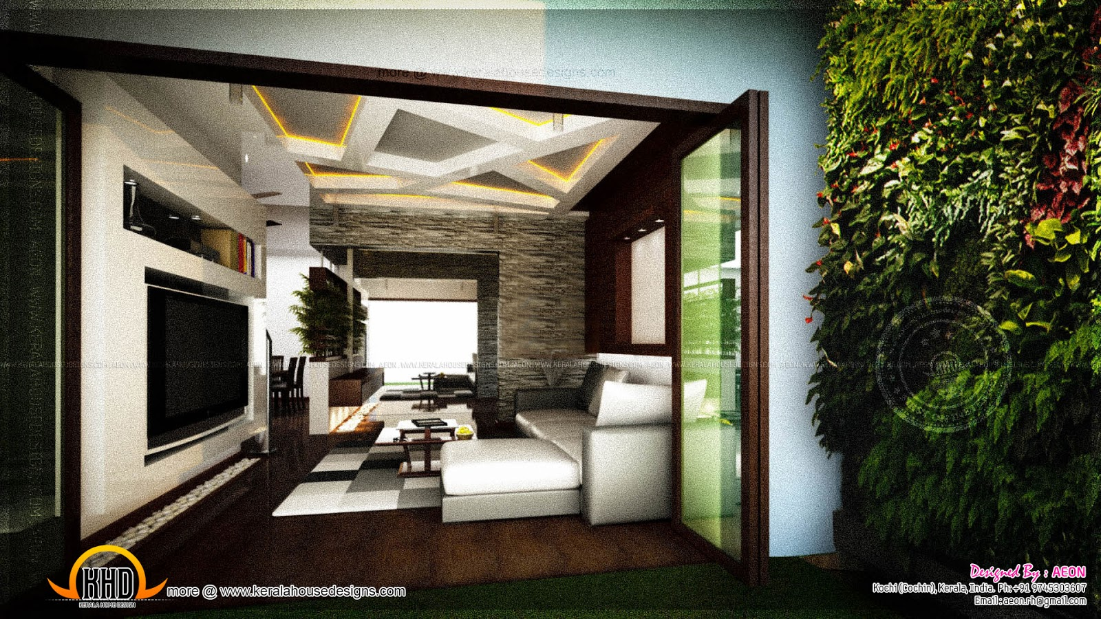Apartment interior designs by aeon cochin kerala home for Design for house