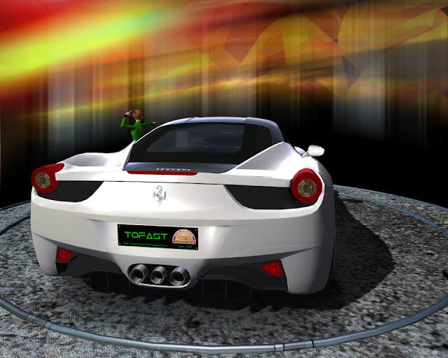 rFactor mod Ferrari 458 Italia