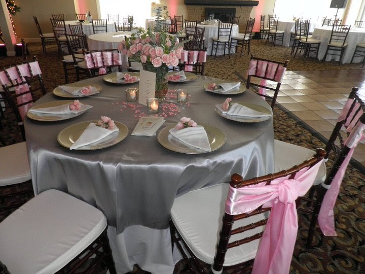 UNIQUE & YOURS WEDDINGS: DECORATING A TABLE