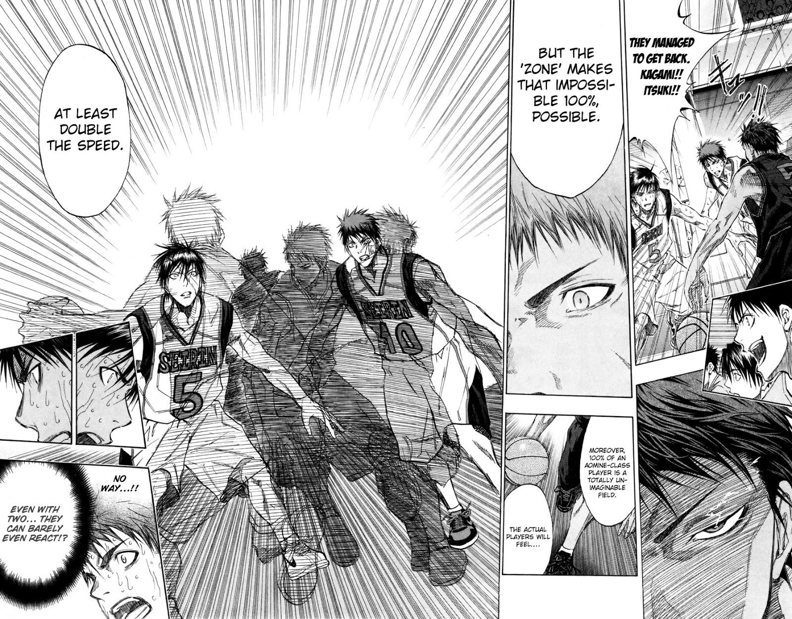 Kuroko no Basket Manga Chapter 134 - Image 02-03