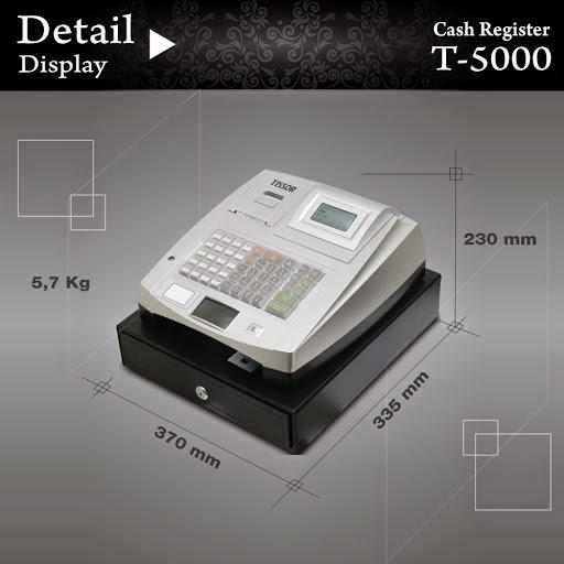 display produk tissor t5000