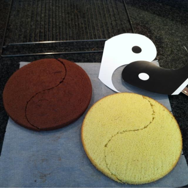 P tisserie nadine a recipe for marriage yin yang gateau for Salle de bain yin yang