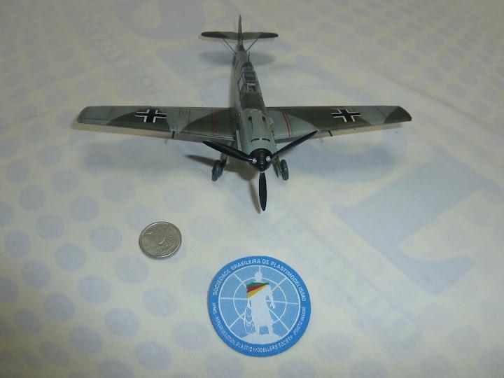 Bf-109 E-3 Tamiya 1/48 - Reforma pintura P1020647