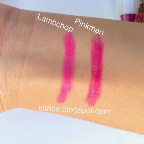 Laqa and Co. Lip Crayons in Lambchop Pinkman - photo credit: intrice.blogspot.com