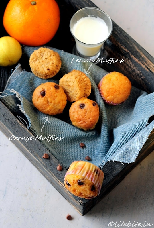 Baking | Three Fruity Muffins