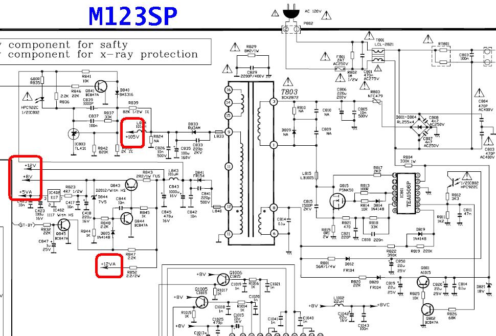 chasis m123a en diferentes marcas y modelos