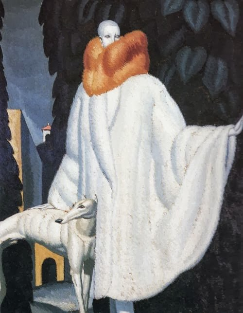 Jean Dupas - Woman with Stole, 1929