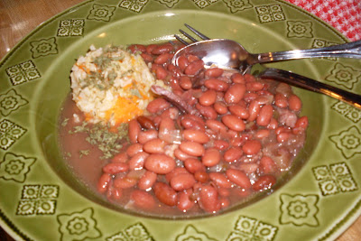 Red Beans and Rice, the great combo's never change.