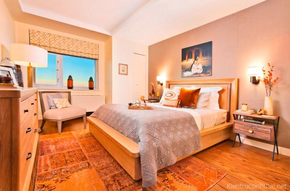 Thiết kế phòng ngủ ấm cúng, hiện đại