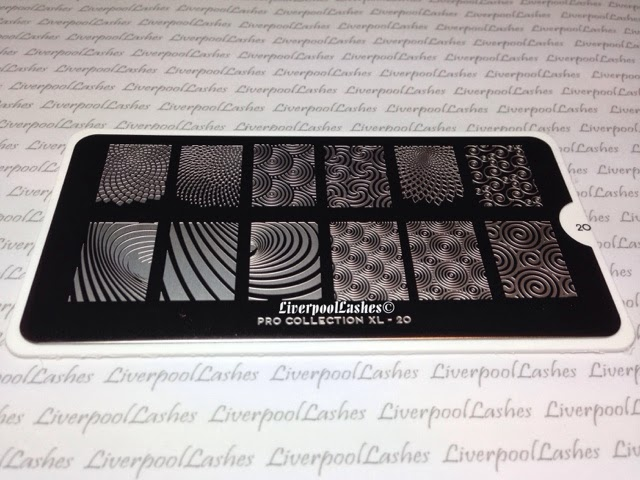 moyou london nail stamping image plates konad pro collection xl 20